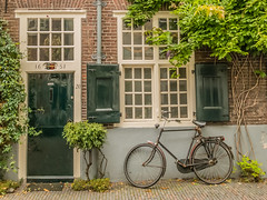 Dutch street scene (Smeets Paul (thanks for 1,3 million views !)) Tags: utrecht bike street dutch holland