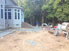construction (16) (The Sharper Cut Landscapes) Tags: brick walkway steps patio thesharpercutlandscapes thesharpercut landscapedesign landscaping landscapelighting