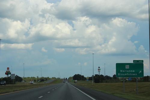 Florida I10eb Exit 142