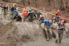Life's ups and downs (stevefge) Tags: berendonck strongviking mud viking reflectyourworld event endurance girls people candid nederland netherlands nederlandvandaag action
