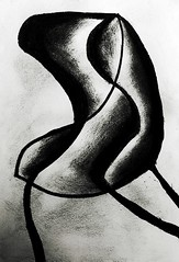 Drawing Room Chair (arkamitra lahiricolour) Tags: art drawing modernart chair charcoal picasso abstract surreal sketch fineart