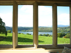 View over Windermere (Sparky the Neon Cat) Tags: europe united kingdom uk great britain gb cumbria lake district national park bowness windermere blackwell house arts crafts baillie scott white drawing room view landscape countryside