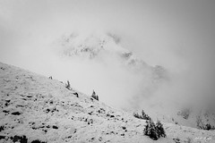 Colossus (slhdub) Tags: majestic mountain big amazing outdoors incredible landscape snow myst fog olympus omd em10 9mm mirrorless photography digital zuiko fagaras mountains national park north face mountaineering alpinism hiking treking climbing