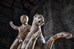 Statua equestre di fanciullo (leosagnotti) Tags: museo nazionale romano urna rome