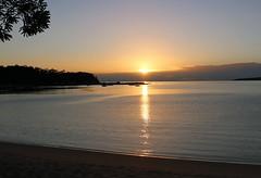 Eden NSW (nictink) Tags: eden nsw landscapewater seasideseaocean sunrises boats nationalparks tranquil calming peaceful blue water ocean rocks cliffs bay twofoldbay