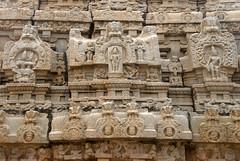 Detail of carvings on the temple with Shiva-Parvati on the right panel (VinayakH) Tags: bhoganandeeshwaratemple karnataka india temple nandihills chikkaballapura chola ganga hoysala tipusultan religious historic