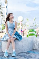 DSC_5039 (Robin Huang 35) Tags: 孫卉彤 candy 兒童新樂園 兒童樂園 遊樂園 lady girl d810 nikon