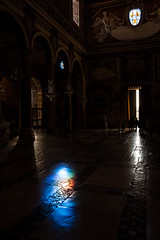 Untitled (francesco_if ) Tags: church rome roma lights colours spot people dark nikon d3