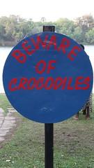 Beware of Crocodiles, Zimbabwe - Sept 2016 (Keith.William.Rapley) Tags: bewareofcrocodiles zimbabwe september2016 rapley keithwilliamrapley warningsign sign zambeziriver crocodiles