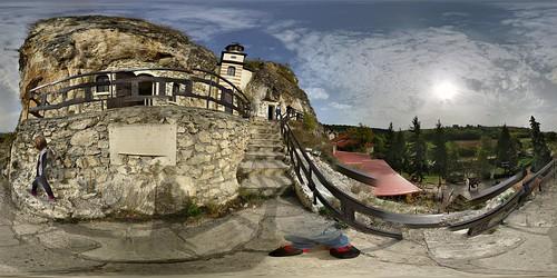Rocky monastery Rusenski Lom