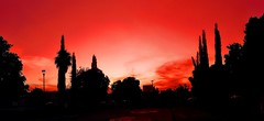 Rojo en Rojo/Red in Red (jerodamor@yahoo.com.mx) Tags: ocasos ocasosdetorren panormicas rojo