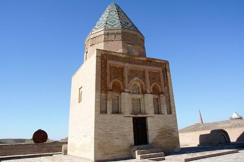 Turkmenistan 521 - Konye (o Kunya)-Urgench - mausoneo di Il Arslan