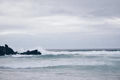 Grey (claudiagomlop) Tags: nikon nikonist landscape landscapelovers ocean sky sea landscapephoto vsco vscocam waves oceanview atlanticoean