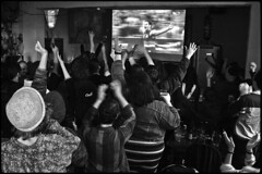 Fandom 12 (Snapshots of Melbourne) Tags: street photography melbourne sport fans spectators football 2016 grand final pub reverence hotel footscray ian kenins