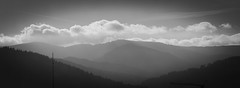 Black Forest Layers (oliko2) Tags: blackforest schwarzwald layers monochrome blackandwhite d7100 landscape clouds mountains schauinsland