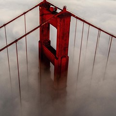 Aerial Drone Photos (spaceCityDrone) Tags: fog bank  independentcbh dronefly drone drones aerials aerial amazing dji gopro goldengatebridge sanfrancisco