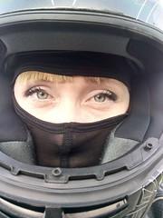 b426 (no_penetrate) Tags: girl helmet moto balaclava