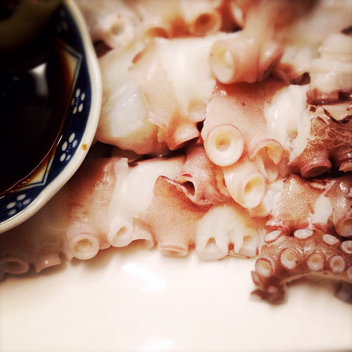 Boiled, Fresh, Octopus, recipe, chinese, live, 白灼, 新鮮, 八爪魚, 章魚