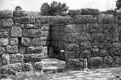 dodona sanctuary (cyberjani) Tags: bw theater greece sanctuary dodona
