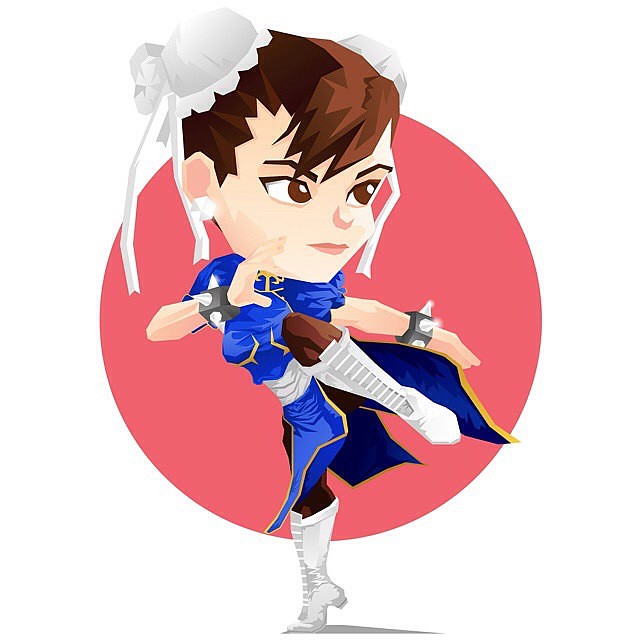 Repost from @kelvinheslop Chun-Li - #vector #vectorart #vectorillustration #illustration #thedesigntip #bestvector #graphics #graphicdesign #design #graphic #digital #illustrator #ladyterezie #bouchac #digitalillustration #chunli #streetfighter #fighter #