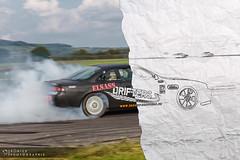 Sketch my Drift IV (Sonick Photographie) Tags: black car sport racetrack race japanese sketch nissan smoke voiture course silvia sheet burnout circuit jdm drift feuille croquis noire 200sx fumée japonaise pouillyenauxois s14a