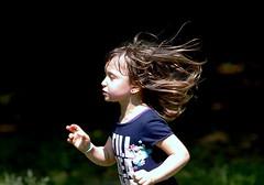 In the wind (Mattia Camellini) Tags: portrait italy closeup hair italia child zoom retrato blueeyes portraiture ritratto primopiano bambina 200mm primelens canonef135mmf2lusm canoneos7d magicprime mattiacamellini