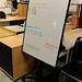 Swivel whiteboard