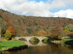 Belgium - Sur le Pont de Cordemois, l'on y danse... (G524_persoon2) Tags: bridge autumn automne belgium belgique herfst belgi pont brug bouillon semois belvdre cordemois
