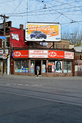 DSC_0944 v2 (collations) Tags: toronto ontario architecture documentary vernacular kitkat streetscapes builtenvironment cornerstores conveniencestores urbanfabric varietystores