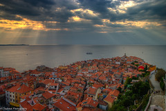 Piran at Dusk (clayhaus) Tags: alps europe eu slovenia slovenija balkans slovene slavic