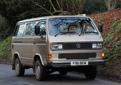 F911 BEW (Nivek.Old.Gold) Tags: cambridge volkswagen 4x4 1989 t3 syncro gl caravelle 2100cc 112ps fvindissons