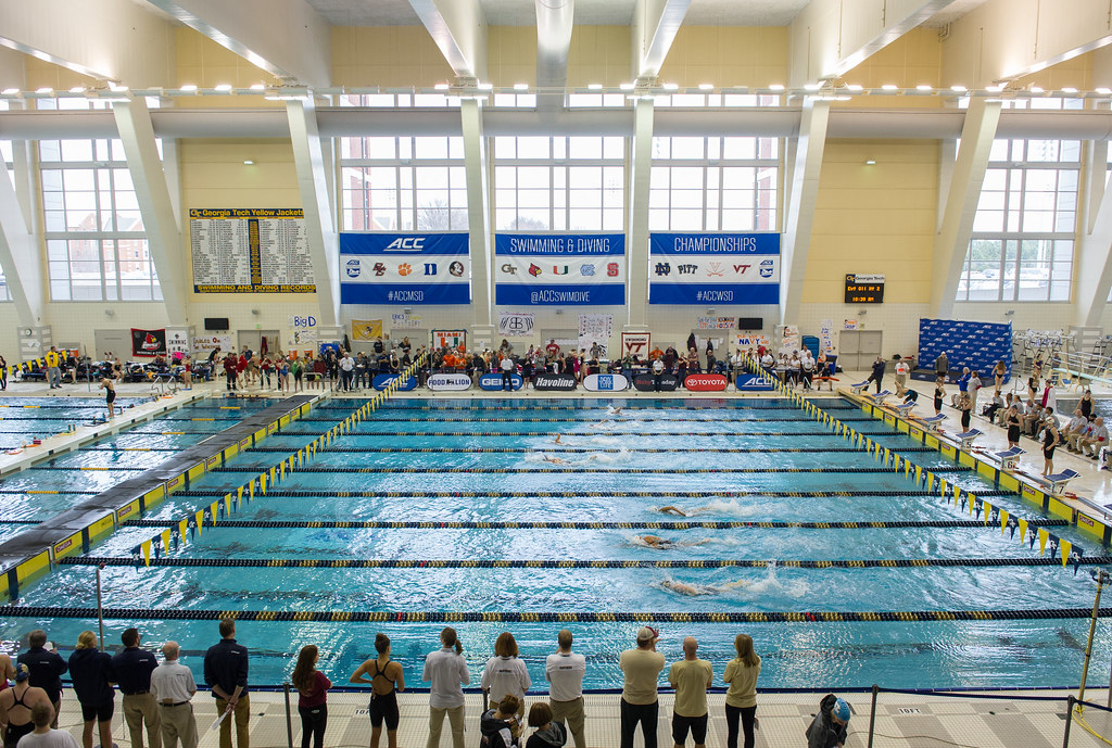 Tech Hosts Acc Swimming Diving Championships
