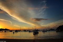 Sunset en Joo Fernandes, Brasil. (Stephanie topp) Tags: sunset brazil sun praia brasil atardecer playa joaofernandes