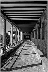 Lneas y sombras-Lines and shadows (Juan Izquierdo) Tags: park camera travel trees light bw espaa white black mountains art fall love blanco nature beautiful misty stone architecture forest canon vintage polaroid happy photography hope lights photo yummy spain alone view y magic negro memories dream free away bosque indie ghosts bianco gredos avila monocrome