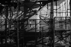 Under construction (w_quarter_pounder) Tags: bw fa50mmf14 pentaxart