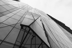 Glass and Steel (artversion) Tags: windows chicago building glass facade loop steel