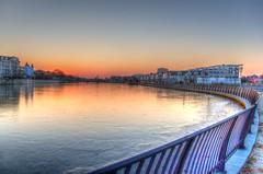 Sunset on Wesley Lake (15/365) [Explore] (aka Buddy) Tags: winter sunset lake newjersey nj og explore wesley day15 2015 explored day15365 asburyparkmonmouthcounty 365the2015edition 3652015 15jan15
