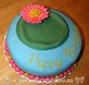 Lily Pad Birthday Cake