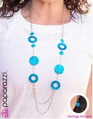 Glimse of Malibu Blue Necklace K3A P2730A-4