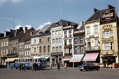 Belgium 1956 (mybelair62) Tags: bus st belgium 1950s cocacola 1956 truiden