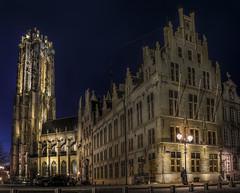 Mechelen (Luc Mercelis) Tags: night nightshot belgium noflash mechelen topaz lightroom sigma1020mm nex3