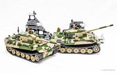 COBI King Tiger Tank (Tiger II) (Adam Purves (S3ISOR)) Tags: world brick scale soldier model war king tank lego military tiger wwii ii german ww2 warrior diorama cobi minifigure knigstiger