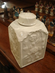 "MEISSEN TEA CADDY IN BLANC DE CHINE • <a style=""font-size:0.8em;"" href=""http://www.flickr.com/photos/51721355@N02/16262057736/"" target=""_blank"">View on Flickr</a>"