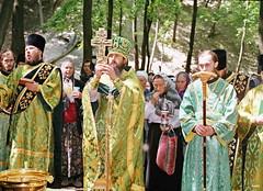 44. Молебен в Арсеньевском скиту 1999 г