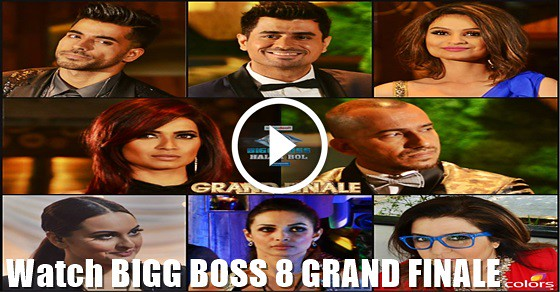 Bigg Boss 8 - Grand Finale - 31st January 2015 - Full Episode Colorstv