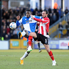 """Bristol Rovers v Altrincham 210215 • <a style=""""font-size:0.8em;"""" href=""""http://www.flickr.com/photos/125622569@N04/16435249998/"""" target=""""_blank"""">View on Flickr</a>"""