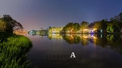 Riverscape Mae Kok Chiangrai Thailand