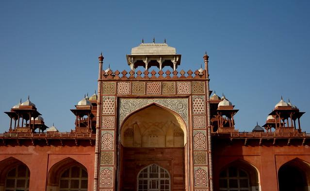 Tomb of Akbar, Sikandara - Main Mausoleum