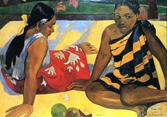 Parau Api : Quelles nouvelles ? (P Gauguin)