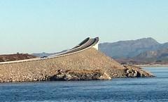 Iconic bridge outside Molde